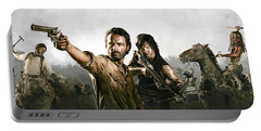 The Walking Dead Artwork 1 Portable Battery Charger