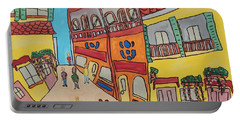 The Walled City Portable Battery Charger by Artists With Autism Inc