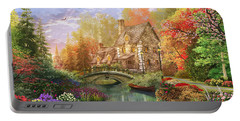 The Water Lake Cottage Portable Battery Charger