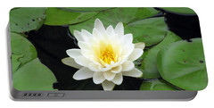 Portable Battery Charger featuring the photograph The Water Lilies Collection - 01 by Pamela Critchlow