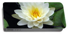 Portable Battery Charger featuring the photograph The Water Lilies Collection - 02 by Pamela Critchlow