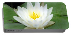 Portable Battery Charger featuring the photograph The Water Lilies Collection - 04 by Pamela Critchlow