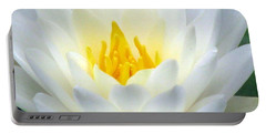 Portable Battery Charger featuring the photograph The Water Lilies Collection - 05 by Pamela Critchlow