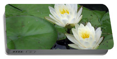Portable Battery Charger featuring the photograph The Water Lilies Collection - 06 by Pamela Critchlow