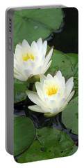 Portable Battery Charger featuring the photograph The Water Lilies Collection - 07 by Pamela Critchlow