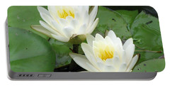 Portable Battery Charger featuring the photograph The Water Lilies Collection - 08 by Pamela Critchlow