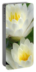Portable Battery Charger featuring the photograph The Water Lilies Collection - 09 by Pamela Critchlow