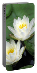 Portable Battery Charger featuring the photograph The Water Lilies Collection - 12 by Pamela Critchlow