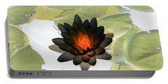Portable Battery Charger featuring the photograph The Water Lilies Collection - Photopower 1034 by Pamela Critchlow