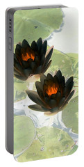 Portable Battery Charger featuring the photograph The Water Lilies Collection - Photopower 1040 by Pamela Critchlow