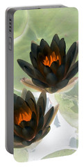 Portable Battery Charger featuring the photograph The Water Lilies Collection - Photopower 1046 by Pamela Critchlow