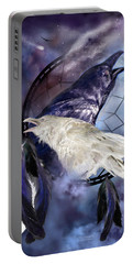 The White Raven Portable Battery Charger
