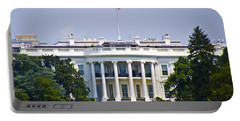 The Whitehouse - Washington Dc Portable Battery Charger by Bill Cannon