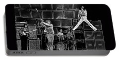 The Who - A Pencil Study - Designed By Doc Braham Portable Battery Charger