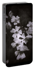 The Wild Roses Portable Battery Charger by Louise Kumpf