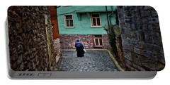 The Woman Near Chora Church Portable Battery Charger