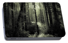 Portable Battery Charger featuring the photograph The Woods by Katie Wing Vigil