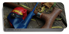 Portable Battery Charger featuring the photograph The X Men by Peter Piatt