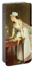 The Yellow Canaries Portable Battery Charger by Joseph Caraud