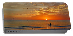 Portable Battery Charger featuring the photograph The Young Fisherman by HH Photography of Florida