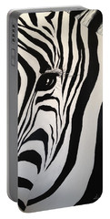 The Zebra With One Eye Portable Battery Charger