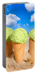 Thee Minty Icecreams Portable Battery Charger