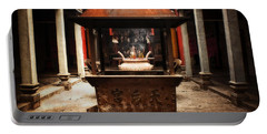 Portable Battery Charger featuring the photograph Thien Hau Temple  by Lucinda Walter