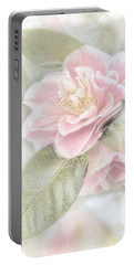 Portable Battery Charger featuring the photograph Think Pink by Peggy Hughes