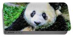Thinking Of David Panda Portable Battery Charger by Lanjee Chee