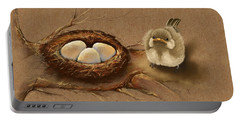 This Is My Nest? Portable Battery Charger by Veronica Minozzi