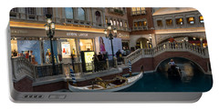 It's Not Venice - The White Wedding Gondola Portable Battery Charger