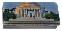 Portable Battery Charger featuring the photograph Thomas Jefferson Memorial At Sunrise by Sebastian Musial