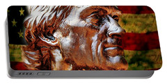 Thomas Jefferson Statue  Portable Battery Charger