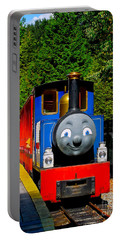 Portable Battery Charger featuring the photograph Thomas by Sher Nasser