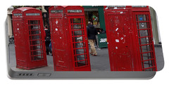 Those Red Telephone Booths Portable Battery Charger