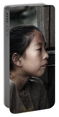 Portable Battery Charger featuring the photograph Thoughts by Lucinda Walter