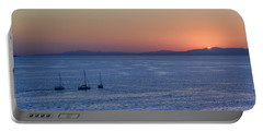 Portable Battery Charger featuring the photograph Three Dreams by Steven Sparks