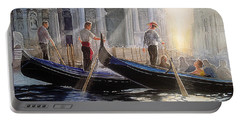 Three Gondoliers Portable Battery Charger