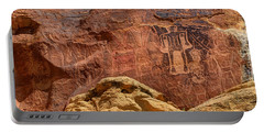 Three Kings Petroglyph - Mcconkie Ranch - Utah Portable Battery Charger