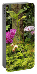 Three Orchid And A Tree Portable Battery Charger