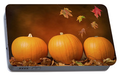 Pumpkin Portable Battery Chargers