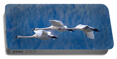 Three Swans Flying Portable Battery Charger