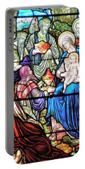 Portable Battery Charger featuring the photograph Three Wise Men - Visitation Of The Magi by  Kim Bemis