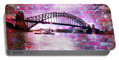 Sydney Harbour Through The Wall 1 Portable Battery Charger