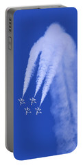Thunderbirds Diamond Formation Downwards Portable Battery Charger