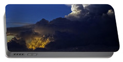 Portable Battery Charger featuring the photograph Thunderstorm II by Greg Reed