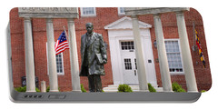 Thurgood Marshall Statue - Equal Justice For All Portable Battery Charger