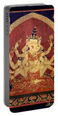 Tibetan Art Portable Battery Charger