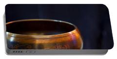 Tibetan Singing Bowl Portable Battery Charger