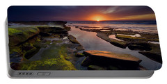 Tidepool Sunsets Portable Battery Charger